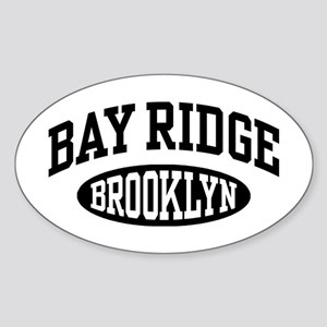 Bay Ridge Brooklyn Sticker (Oval)